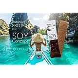 SOY Concept ボタニカルプロテインバー 植物性大豆プロテイン 砂糖,人口甘味料,香料,着色料,保存料不使用 小麦粉,マーガリン,ショートニング不使用 動物性不使用 12本入 (カカオ)