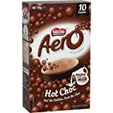Aero Nestle Hot Choc 10 Sachets 185g, 10 Pieces