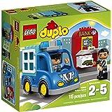 LEGO DUPLO Town Police Patrol 10809 Toddler Toy, Large Building Bricks