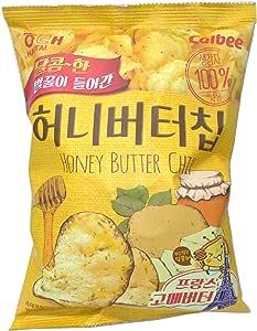 3個 ハニーバターチップ新ヘテ韓国ポテトスナックチップスクラッカー60グラム×3 Honey Butter Chip [海外直発送]