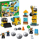 LEGO DUPLO Town 10932 Wrecking Ball Demolition Building Kit (56 Pieces)
