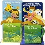 可愛い 動物 緑茶 ティ-バッグ セット ANIMAL TEA PARTY ギフト パーティー 誕生日