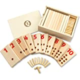 Montessori Toys for Toddlers – Learning & Educational Toys – Wooden Toy Preschool Materials Peg Number Board for 3 4 5 Year O