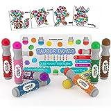 8-pack Washable Dot Markers / Bingo Daubers Dabbers Dauber Dawgs Kids / Toddlers / Preschool / Children Art Supply 3 Pdf Colo