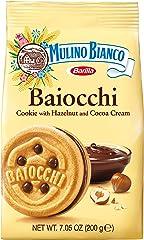 Mulino Bianco Baiocchi Hazelnut and Coco Cookies, 200 g