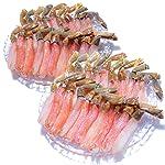 黒帯 生 ズワイガニ 棒肉 ポーション 1kg 40-50本前後 お刺身 生食 生 ずわい蟹 足 脚 かに むき身 良品選別済 新物 プレミアム ギフトセット