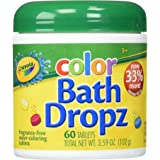 Crayola Color Bath Dropz 3.59 Ounce (60 Tablets)