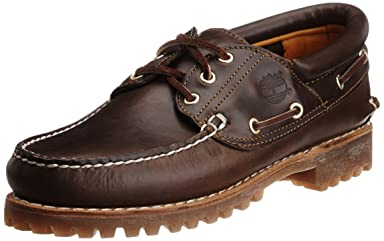 3-Eye Classic Lug Shoes: 30003 Brown Pull Up