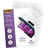 Fellowes Thermal Laminating Pouches, ImageLast, Jam Free, Letter Size, 3 Mil, 150 Pack (5200509),Multicolor