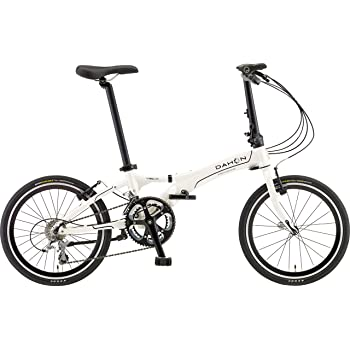 DAHON(ダホン) 折りたたみ自転車 Visc D20 20インチ 2016年モデル 20段変速 アルミフレーム Cloud White ARA003