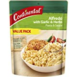 CONTINENTAL Pasta & Sauce (Value/Family Pack) | Alfredo with Garlic & Herb, 145g