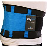 Back Support Brace, Lower Lumbar Belt MEDiBrace II (Medical Grade) Pain & Discomfort Relief from Sciatica, Backache, Slipped