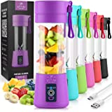 Zulay Kitchen Portable Blender For Shakes And Smoothies - Usb Rechargeable Portable Smoothie Blender Small For Travel - 13Oz
