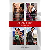 Modern Box Set 5-8 May 2021/Promoted to the Italian's Fiancee/Her Deal with the Greek Devil/Stranded for One Scandalous Week/