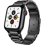 BaiHui Compatible with Apple Watch Band 42mm/44mm,Titanium Alloy Metal Watch Bands Compatible for Smart Watch Series 5/4/3/2/