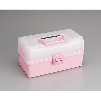 TOYO 樹脂製 3段式ツールボックス HP-320 (ピンク)