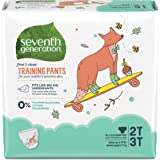 Seventh Generation Baby & Toddler Training Pants, Medium Size 2T-3T, 25 Count, Pack of 4(Packaging May Vary)