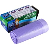 "Fresh Step Drawstring Scented Litter Box Liners | Quick & Easy Cleanup, Large - 30"" x 17"" (7 Count), Fresh Scent"