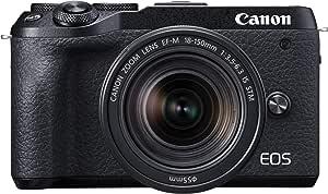 Canon ミラーレスカメラ EOS M6 Mark II (ブラック)・EF-M18-150 IS STM レンズキット