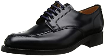 Military Apron Derby Shoe 9386: Navy