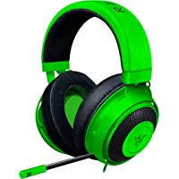 Razer Kraken Green RZ04-02830200-R3M Gaming Headset, Analog Connection, PS4 PC Switch,…