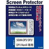 SIGMA DP1/DP2/DP3 Merrill専用 AR液晶保護フィルム(反射防止フィルム・ARコート)
