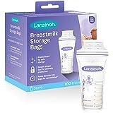 Lansinoh Breastmilk Storage Bags, 100 Count, BPA Free and BPS Free (Packaging May Vary)
