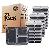 Freshware Meal Prep Containers 3 Compartments