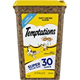 Temptations Classic Crunchy and Soft Cat Treats Tasty Chicken Flavor, 30 Oz Tub