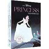 Disney Princess Postcard Box: 100 Collectible Postcards (Disney Art Stationery, Gift for Disney Lover)