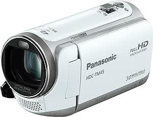 パナソニック デジタルハイビジョンビデオカメラ TM45 内蔵メモリー32GB クリアホワイト HDC-TM45-W