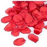 300pcs Artificial Flowers Silk Rose Petals Flower Girl Scatter Petals for Wedding Aisle Centerpieces Table Confetti Party Fav