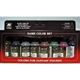 Acrylicos Vallejo S.L. Tabletop Supplies Game Colour Washes 8 Colour Set Modelling Kit