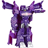 Transformers Toys Cyberverse Action Attackers: 1-Step Changer Shockwave Action Figure -Repeatable Shock Blast Action Attack -