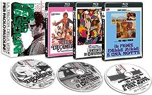 """ピエル・パオロ・パゾリーニ監督""""生の三部作"""" <HDニューマスター版> Blu-ray-BOX"""