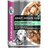 Eukanuba Beef & Vegetable Stew Adult Dog Wet Food 12x354g