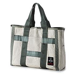 Todd Snyder x Briefing Cotton Fleece Tote Bag: Grey