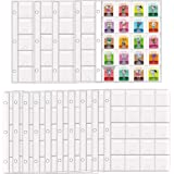 D DACCKIT 300 Pockets Pages for Animal Crossing Mini Amiibo Cards, Holds 300 ACNH NFC Tag Game Cards (15 Pack)
