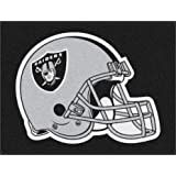 FANMATS NFL Oakland Raiders Nylon Face All-Star Rug