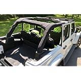 Koverz Jeep Wrangler Roll Bar Cover Padding JL Unlimited 4-Door Neoprene JL JLU 2018-Present - Black