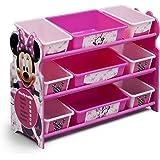 Delta Children 9 Bin Plastic Organizer, Disney Minnie Mouse