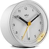 BRAUN ALARM CLOCK ブラウン アラーム クロック 時計 クロック ブラック 黒 ホワイト 白 置き時計 目覚まし時計 トラベル 旅行 BC012W