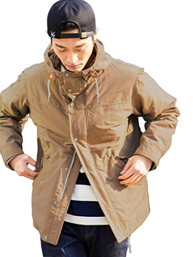 3-way 60/40 Cloth Deck Parka 3225-199-2293: Beige