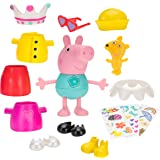 Peppa Pig 96642 Talking Dress Up Peppa Deluxe Figure Pack