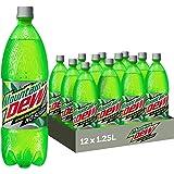 Mountain Dew Zero Sugar Drink, 12 x 1.25L