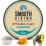 Hair Styling Clay for Men - Best Pliable Moulding Cream with Strong Hold & Matte Finish - Product for Textured, Thickened & M