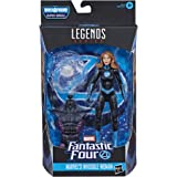 Marvel Legends Series Fantastic Four 6-inch Collectible Action Figure Marvel's Invisible Woman Toy, 1 Accessory, 1 Build-A-