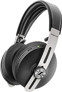 Sennheiser ゼンハイザー MOMENTUM Wireless M3AEBTXL BLACK Bluetoothノイズキャンセリングヘッドホン, オートon/off, スマートポーズ, ボイスアシスタント連携, Smart Control App, 【国内正規品】 508234