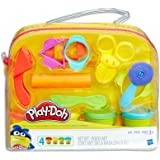 Play-Doh - Starter Set inc 4 Tubs of Dough & 6 Accessories - sensory and educational craft toys for kids, boys, girls - Ages
