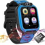 SZBXD Kids Smart Watch with Games (Blue)